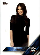 2016 WWE (Topps) Then, Now, Forever Cathy Kelley 110