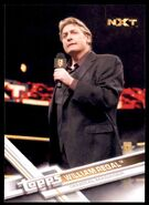 2017 WWE Wrestling Cards (Topps) William Regal 89