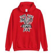 King Nakamura x Rick Boogs Strong Style Pullover Hoodie Sweatshirt