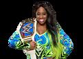 Naomi WWE Smackdown Women's Championship 2017