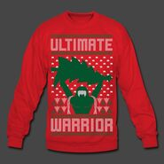 Ultimate Warrior 2016 Limited Edition Ugly Red Christmas Sweater