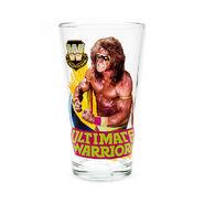 Ultimate Warrior Toon Tumbler Pint Glass