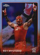 2015 Chrome WWE Wrestling Cards (Topps) Rey Mysterio 56