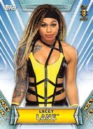 2019 WWE Women's Division (Topps) Lacey Lane 42