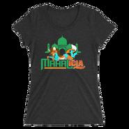 Jinder Mahal & Alicia Fox MMC Mahalicia Logo Women's Tri-Blend T-Shirt