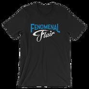 AJ STYLES & CHARLOTTE FLAIR MMC FENOMENAL FLAIR UNISEX T-SHIRT