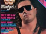 WWF Magazine - August 1988