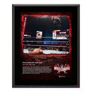 Kevin Owens WrestleMania 37 10x13 Commemorative Plaque