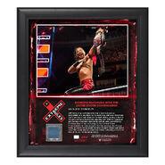 Shinsuke Nakamura Extreme Rules 2018 15 x 17 Framed Plaque w Ring Canvas