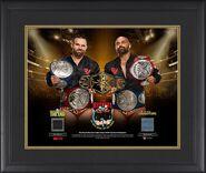 The Revival Triple Crown Tag Team Champions 20 x 24 Commemorative Plaque