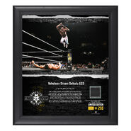Velveteen Dream NXT TakeOver Brooklyn 2018 15 x 17 Framed Plaque w Ring Canvas