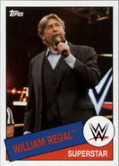 2015 WWE Heritage Wrestling Cards (Topps) William Regal 99