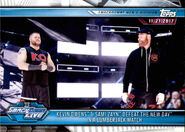 2019 WWE Road to WrestleMania Trading Cards (Topps) Kevin Owens & Sami Zayn 71