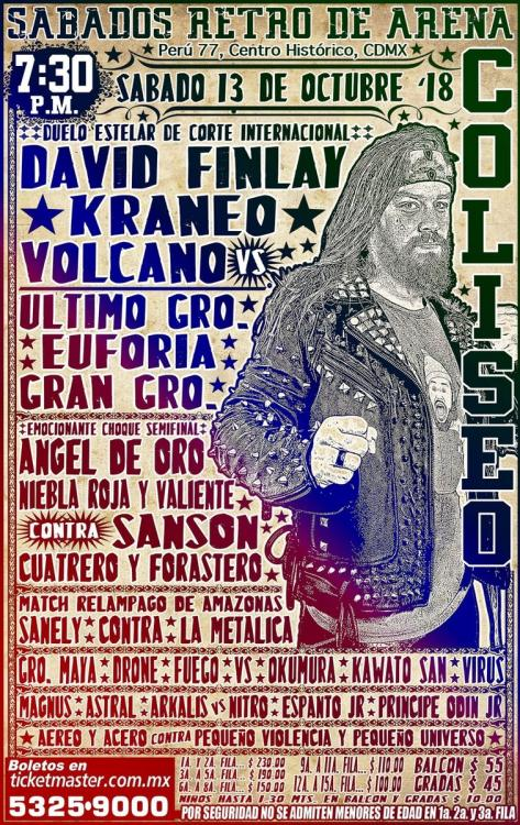 CMLL Sabados De Coliseo (October 13, 2018)