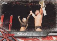 2017 WWE Road to WrestleMania Trading Cards (Topps) Maryse 70