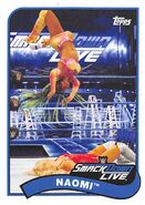 2018 WWE Heritage Wrestling Cards (Topps) Naomi 53