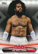 2019 WWE Raw Wrestling Cards (Topps) No Way Jose 55