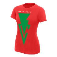 Finn Bálor Bálor Club North Pole Chapter Women's Holiday T-Shirt