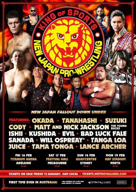 NJPW Fallout Down Under Tour 2018 - Night 3
