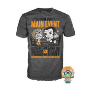 Ultimate Warrior vs. Andre The Giant POP! Tee & Pint Pack