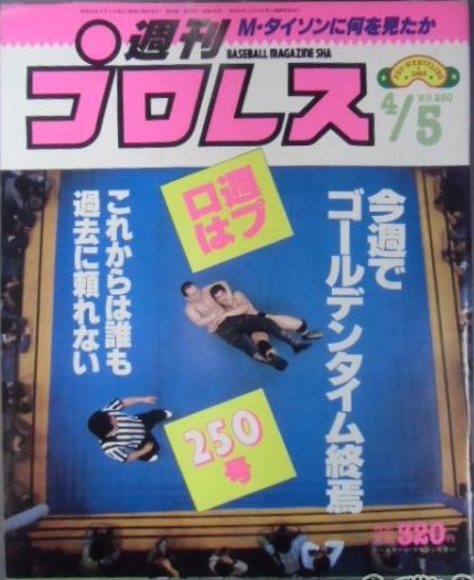 Weekly Pro Wrestling No. 250