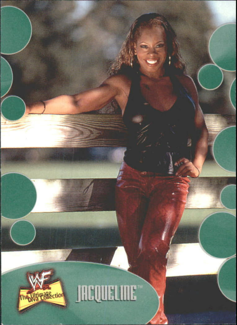 2001 WWF The Ultimate Diva Collection (Fleer) Jacqueline (No.4)