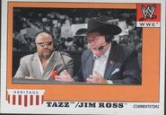 2008 WWE Heritage IV Trading Cards (Topps) Tazz & Jim Ross 72