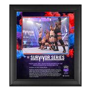 Men's Elimination Match Survivor Series 2020 15 x 17 Commemorative Plaque