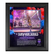 Sasha Banks Survivor Series 2020 15 x 17 Commemorative Plaque