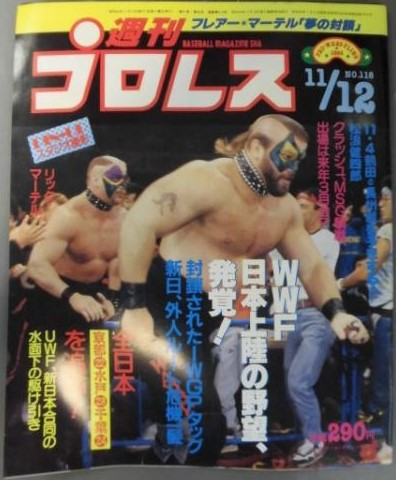 Weekly Pro Wrestling No. 118
