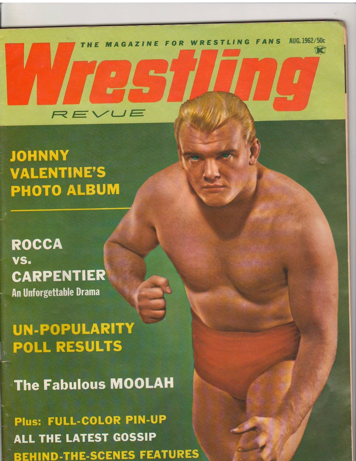Wrestling Revue - August 1962