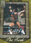 2002 WWF All Access (Fleer) The Rock 99