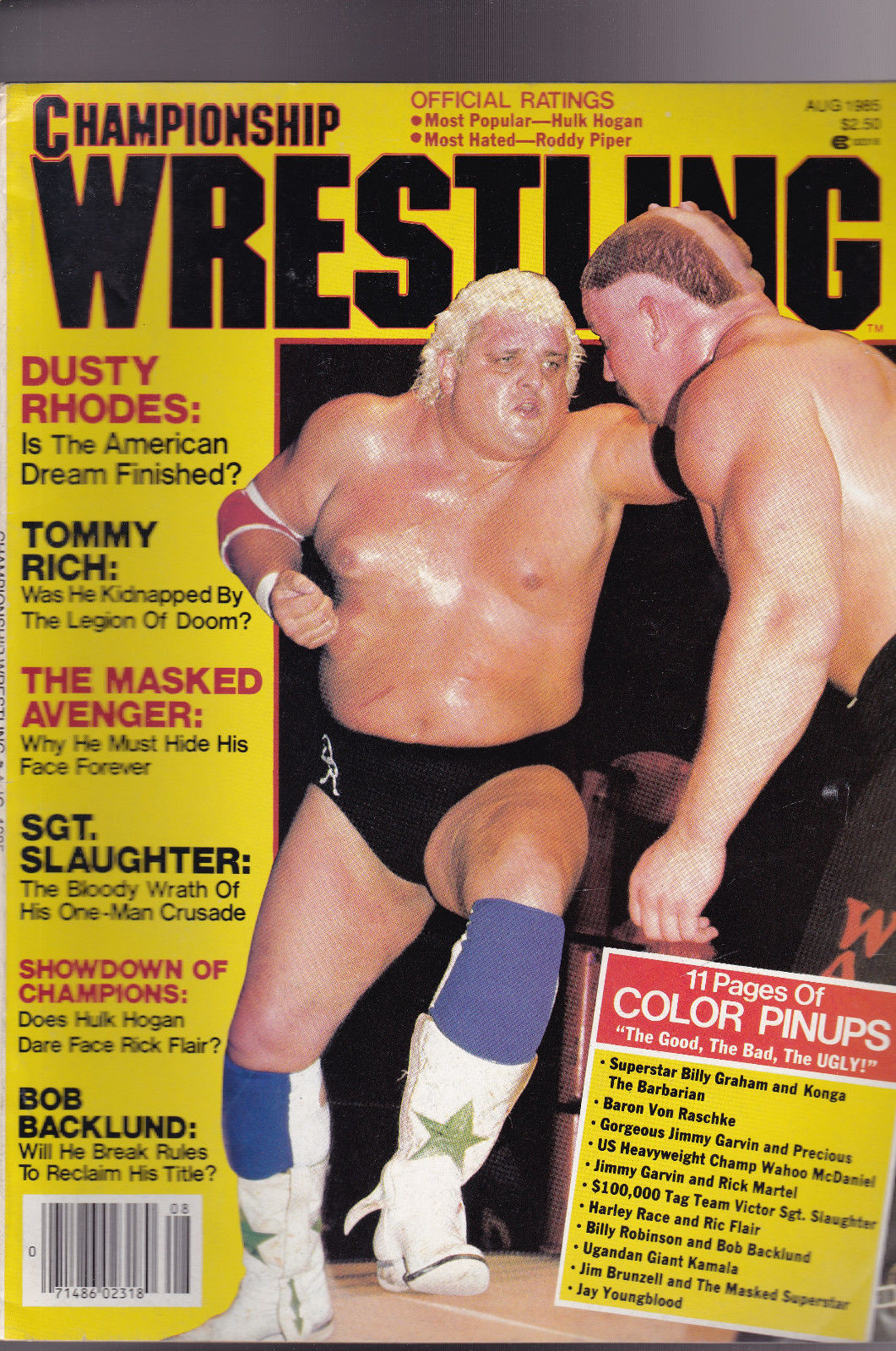 Championship Wrestling - August 1985
