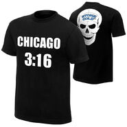 Stone Cold Steve Austin Chicago 316 Chicago Edition T-Shirt