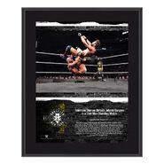 Tommaso Ciampa NXT TakeOver Brooklyn 2018 10 x 13 Commemorative Plaque