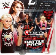 WWE Battle Packs 54 Alexa Bliss & Nia Jax