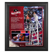 WrestleMania 36 John Morrison 15 x 17 Limited Edition Plaque