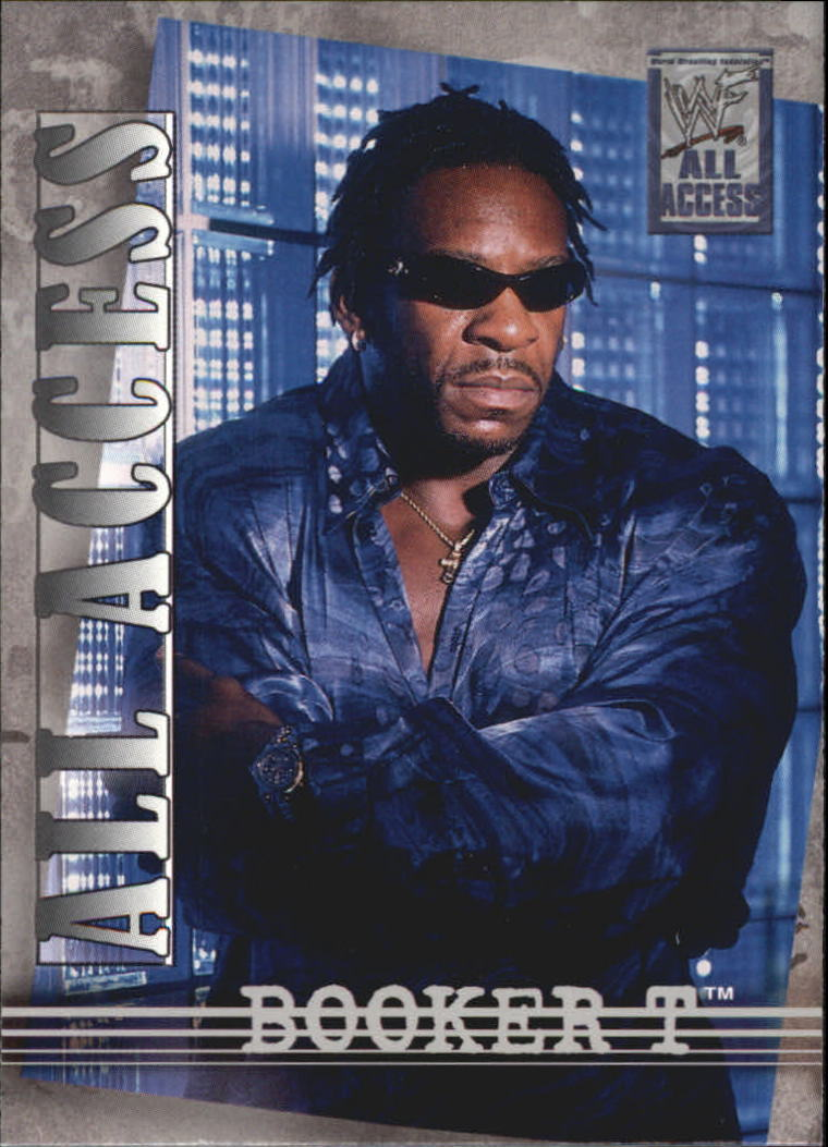 2002 WWF All Access (Fleer) Booker T (No.13)
