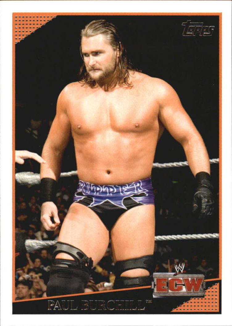 2009 WWE (Topps) Paul Burchill (No.66)