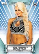 2019 WWE Women's Division (Topps) Maryse 24