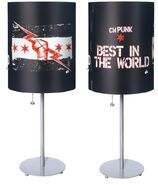 CM Punk Best In The World Lamp