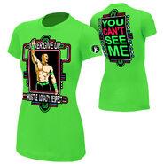 John Cena Neon Green Women's T-Shirt