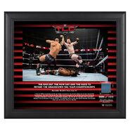 The Bar TLC 2018 15 x 17 Framed Plaque w Ring Canvas