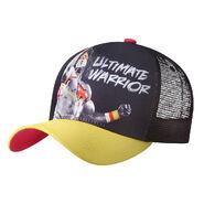 Ultimate Warrior Yellow Mesh Baseball Cap