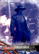 2017 WWE Road to WrestleMania Trading Cards (Topps) Undertaker 61