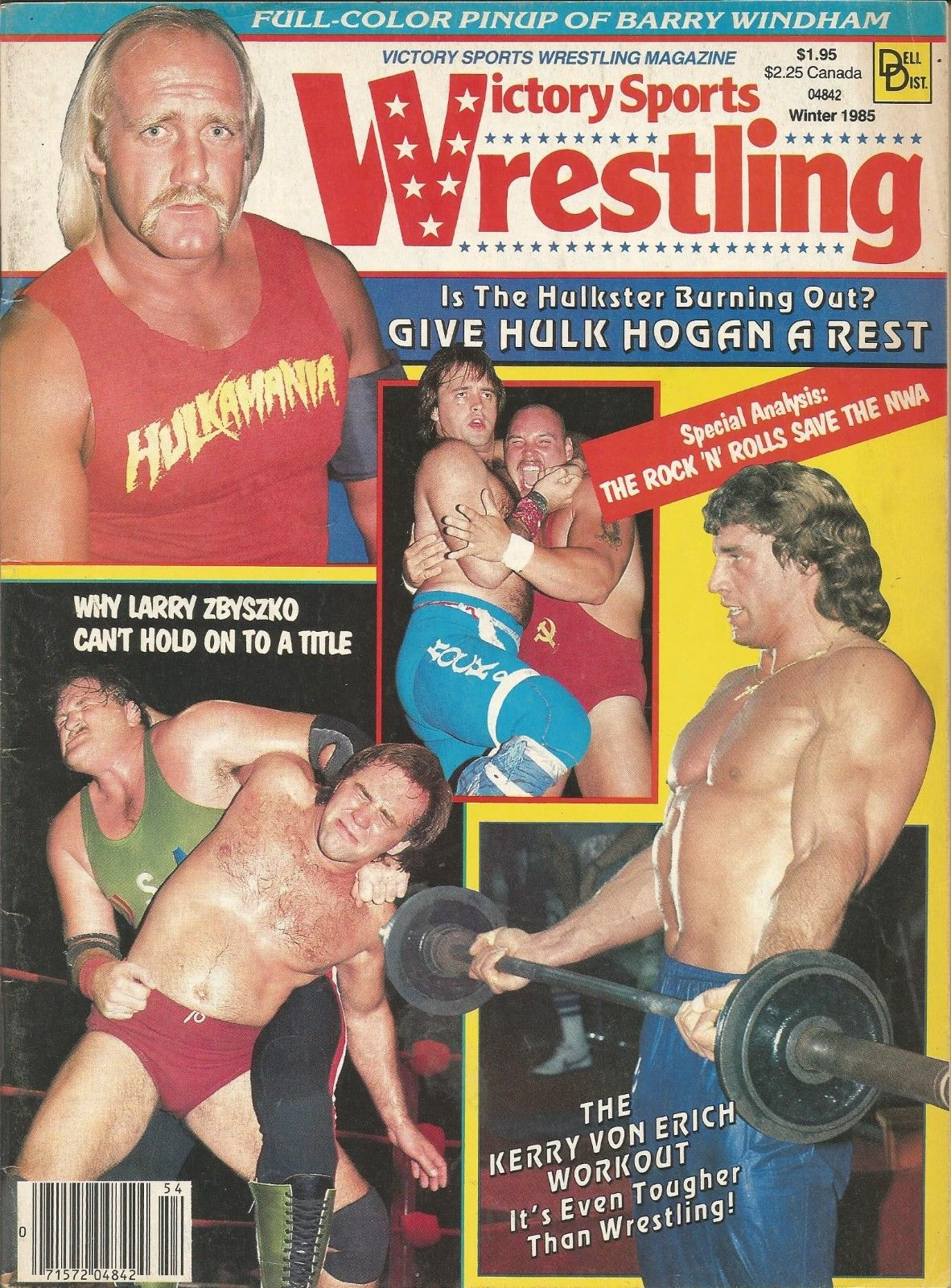 Victory Sports Wrestling - Winter 1985