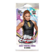 WWE 2020 Chrome Topps Cards Fat Pack