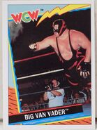 1992 WCW Trading Cards (Topps) Big Van Vader (No.61)