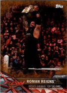 2017 WWE Road to WrestleMania Trading Cards (Topps) Roman Reigns 1