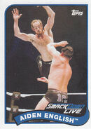 2018 WWE Heritage Wrestling Cards (Topps) Aiden English 111
